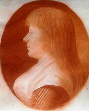 Leonhard Heinrich Hessel 1757-1830 St. Petersburg Nürnberg / Zeichnung Portrait