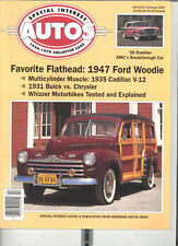 SPECIAL INTEREST AUTO #133 - 47 FORD, 35 CAD, 31 BUICK+