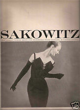 50's Sakowitz Fashion Ad  1959