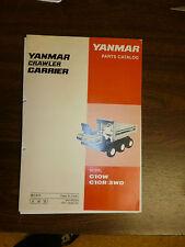 YANMAR C10W, C10R 6WD  parts manual