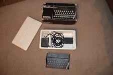 Sinclair ZX Spectrum 48k Vintage Computer Original Box and Power Supply