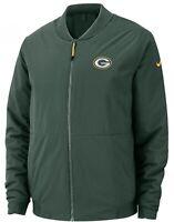 Nike Shield Green Bay Packers Bomber Jacket Green 943968 323 Men's Medium New