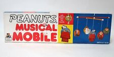 More details for vintage peanuts musical mobile with snoopy & friends from 1960's | working