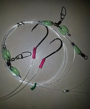 4 FOUR ULTIMATE II 2 DROPPERS RIGS  TRACES JAPAN 100LB HOOKS 6/0 BEAK 7/0 CIRCLE