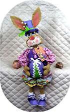 "Primitive Easter~""HOPPIN' HARRY""~24"" Bunny PATTERN #267 ~ Ginger Creek Crossing"
