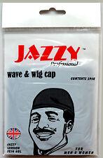 5 CONFEZIONI JAZZY Parrucca e WAVE coefficiente PAC TRASPIRANTE stirabili nylon per uomini donne