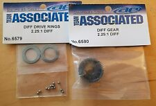 TEAM ASSOCIATED RC10 DIFF GEAR, RINGS, THORP CARBIDE BALLS 6580 6579