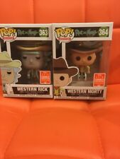 FUNKO POP VINYL Western Rick & Western Morty  SDCC 2018 SUMMER CONVENTION