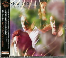 NEW ORDER-LIVE IN BELGIUM 1985-IMPORT CD F07