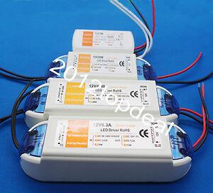 12V 18W /28W/48W72W Constant Voltage Led Driver Power Supply