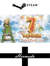 7 Wonders: magico mistero Tour a vapore-Chiave per PC Windows (stesso giorno di spedizione)