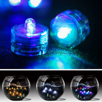 Submersible Waterproof Battery Operated TRIPLE LED Tea Lights Floralyte *BRIGHT*