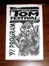 The TOM Festival TOMfest 3rd Annual '97 Concert Program Third 1997 POD MxPx RARE