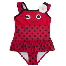 Babytown Baby Girls Novelty Swimming Costume Ladybird 9-12 Months