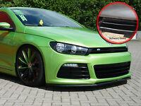 Spoilerschwert Frontspoiler ABS für VW Scirocco 3 R mit ABE schwarz glänzend