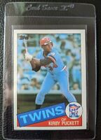1985 TOPPS #536 KIRBY PUCKETT ROOKIE CARD RC MINNESOTA TWINS HOF