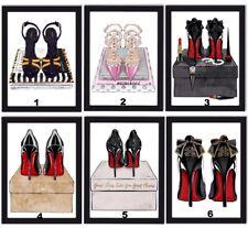 Louboutin Shoes Art Fashion Art Bedroom Wall Art Designer Shoes Valentino