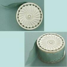 Antique Carved Mother Of Pearl Emery/Pin Cushion * English * Circa 1850