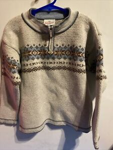 Hanna Anderson Boys cotton ski sweater Size 120