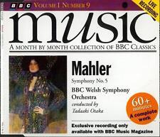 MAHLER - SYMPHONY No 5 / BBC WELSH SYM ORCHESTRA / TADAAKI OTAKA - BBC CD (1993)