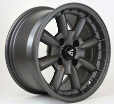 15x8 Enkei COMPE 4x100 +25 Gunmetal Rims Fits Accord Integra Civic Miata Fox