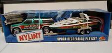 NIB Nylint SET Off Shore Speedster SUV Chevrolet Suburban 1999 Boat and Trailer