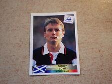 FOOTBALL PANINI STICKER FRANCE 98 WORLD CUP DANONE / T. Boyd SCOTLAND (35)