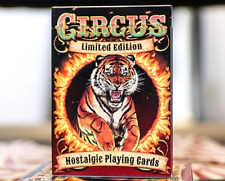 Limited Edition Nostalgic Circus Playing Cards - USPCC- Only 2500 printed!