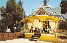 STORYLAND - The Three Bears Cottage - Roeding Park, Fresno, CA Postcard ca 1950s
