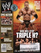 WWE Magazine November 2013 Triple H, Shawn Michaels w/ML EX 121115DBE