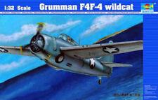 Trumpeter 02223 Grumman F4F-4 Wildcat Joe Foss 1/32 Scale Plastic Model Kit