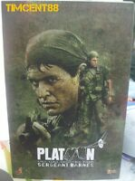 In Stock! Hot toys MMS141 Platoon 1/6 Sergeant Bob Barnes Tom Berenger Figure