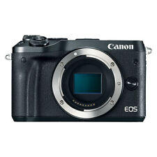 Canon EOS M6 Mirrorless 24.2MP Digital Camera Body Black