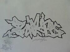 Street art graffiti Luis LAMBOY aka ZIMAD