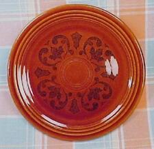 Vintage Fiesta / Sheffield Amberstone Brown Bread and Butter / Dessert Plate