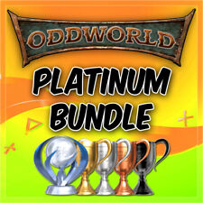 🔥Oddworld Platinum Trophy Bundle New n Tasty, Wrath HD +More PSN/PS3/PS4/VITA🔥