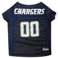 Los Angeles Chargers NFL Pets First Licensed Dog Pet Mesh Jersey XS-2XL NWT