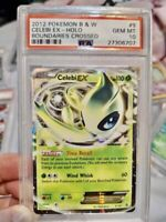 Psa 10 Celebi (ONLY 16 IN THE WORLD) Ex 2012 Pokemon Vintage Rare Holo BW #9