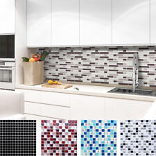 4x 3D Fliesenaufkleber Fliesenfolie Wandaufkleber Küche Bad 25,3 x 25,3 cm W3329
