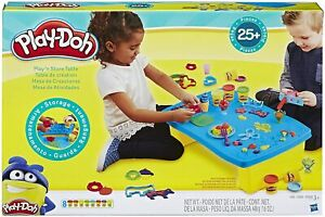Play Table Doh N Store 6 Tubs Dough Accessories Creative Kids Toys Ages 3+ NEW