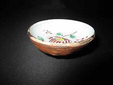 ancienne tasse à saké en porcelaine peinte et tressage fin XIX ème