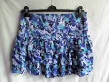 PAPAYA floral print lined casual summer party mini skirt sz 12 BNWT LOVELY