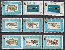 AIRCRAFT:1979 BELIZE Rowland Hill ( Aircraft) set+MS(2)  SG504-12+MS513 MNH