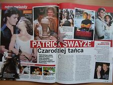 PATRICK SWAYZE in Polish Magazine KROPKA TV 26/2017 ANNA WYSZKONI on front cover