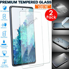 2 Pack Genuine TEMPERED GLASS Screen Protector for Samsung Galaxy S20 FE / FE 5G