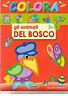 Colora gli animali del bosco 3+ - Salvadeos - Libro nuovo in offerta