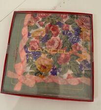 lancel paris handkerchief 17� x 17� 2-pack vintage New