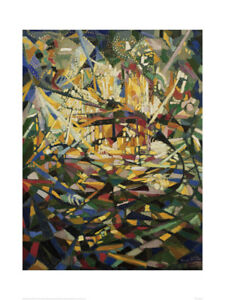 Battle of Lights - Frank Stella - Fine Art Giclee Print Poster (60 x 80)