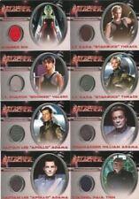 Battlestar Galactica Premiere Edition Costume Card Set 8 Cards