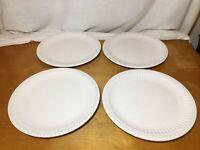"4 EUC American Atelier Athena (5166) Dinner Plates 11 3/8"""